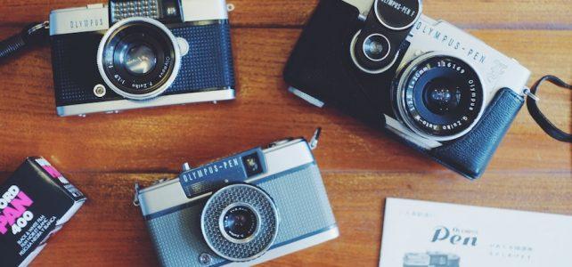 ภาพกล้องฟิล์มแบบธรรมดา