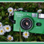 """""""C35 EF3""""-ดอกไม้กล้องสีเขียว"""