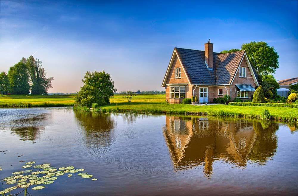 เคล็ดลับถ่ายภาพ-บ้านริมแม่น้ำ