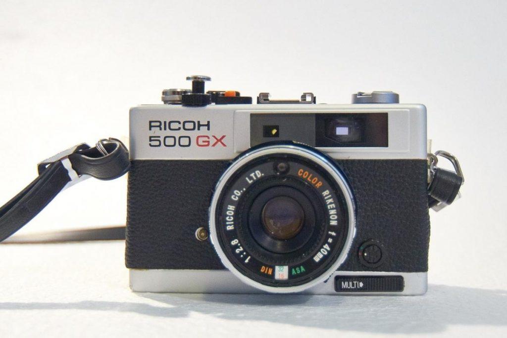 500 GX-ตัวกล้อง