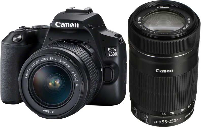EOS 250D Kit -กล้องและเลนส์