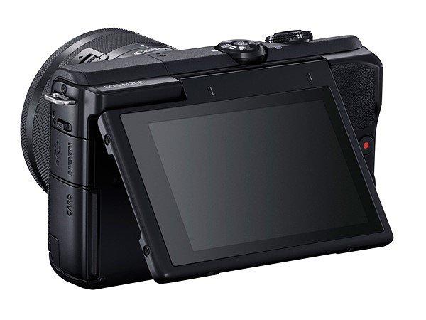 กล้อง Canon EOS M200-ด้านหลัง