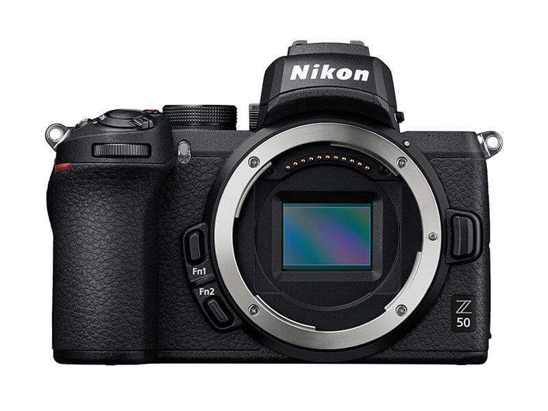 Nikon Z50 body Kit-ด้านหน้า
