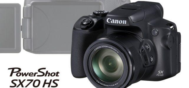 ตัวอย่างกล้องPowerShot SX70 HS
