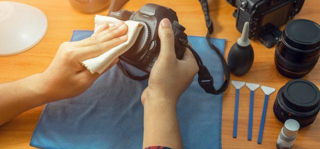 การทำความสะอาดกล้องถ่ายรูป