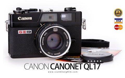 Canonet QL17 GIII-หน้าปก